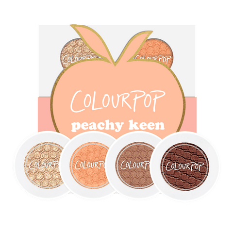 Colourpop Peachy Keen Foursome - Eyeshadow Bundle