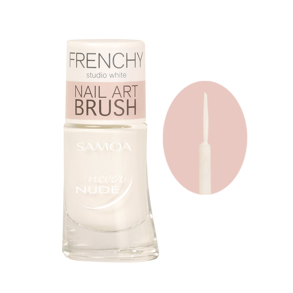 Samoa Frenchy Studio White - Nail Art Brush Nail Polish