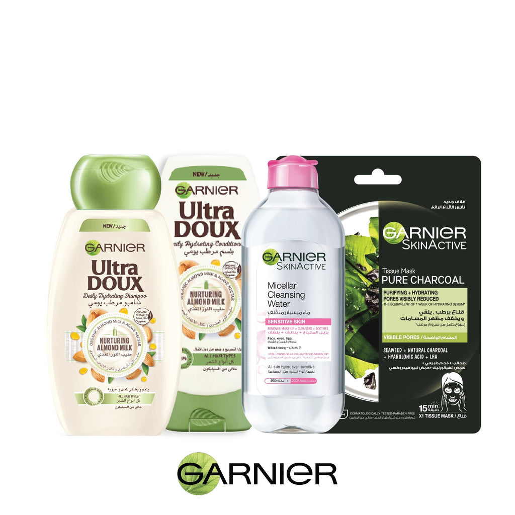 Garnier November Mania Vegan Hair & Skin Care Routine 25% OFF!!