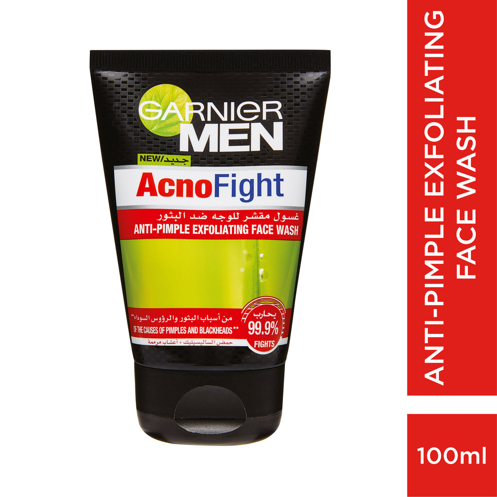 Garnier Men Acno Fight Exfoliating Face Wash