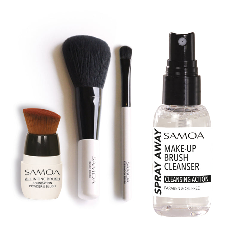 Samoa Feel Glam'D Season 2 - Essential Brushes Bundle