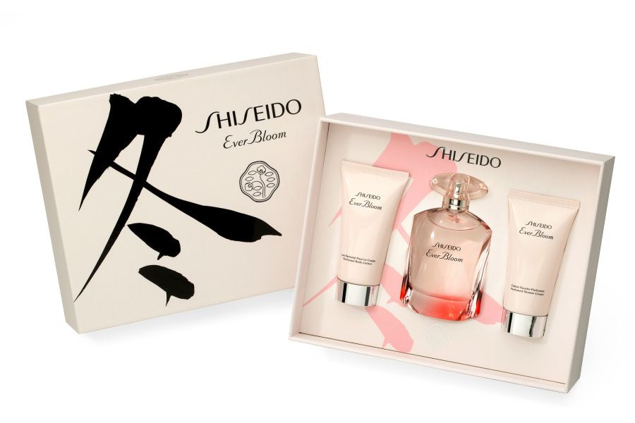 Shiseido Ever Bloom Perfume Gift Set