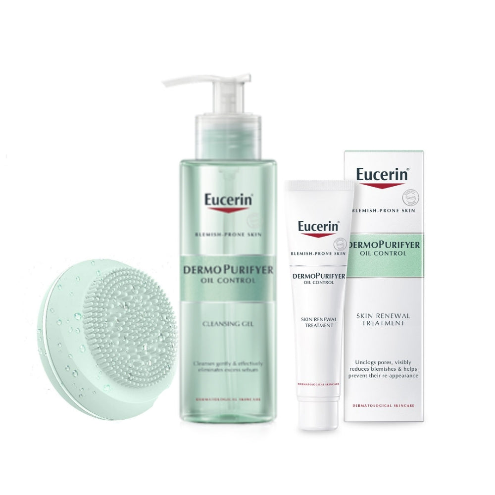 Eucerin DermoPurifyer Acne-Prone Skin Renewal Treatment Gift Set