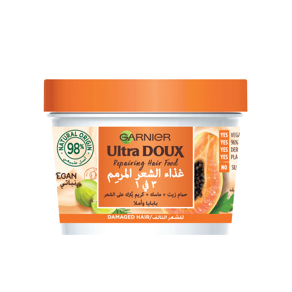 Garnier Ultra Doux Hair Food Papaya & Amla - Damaged Hair
