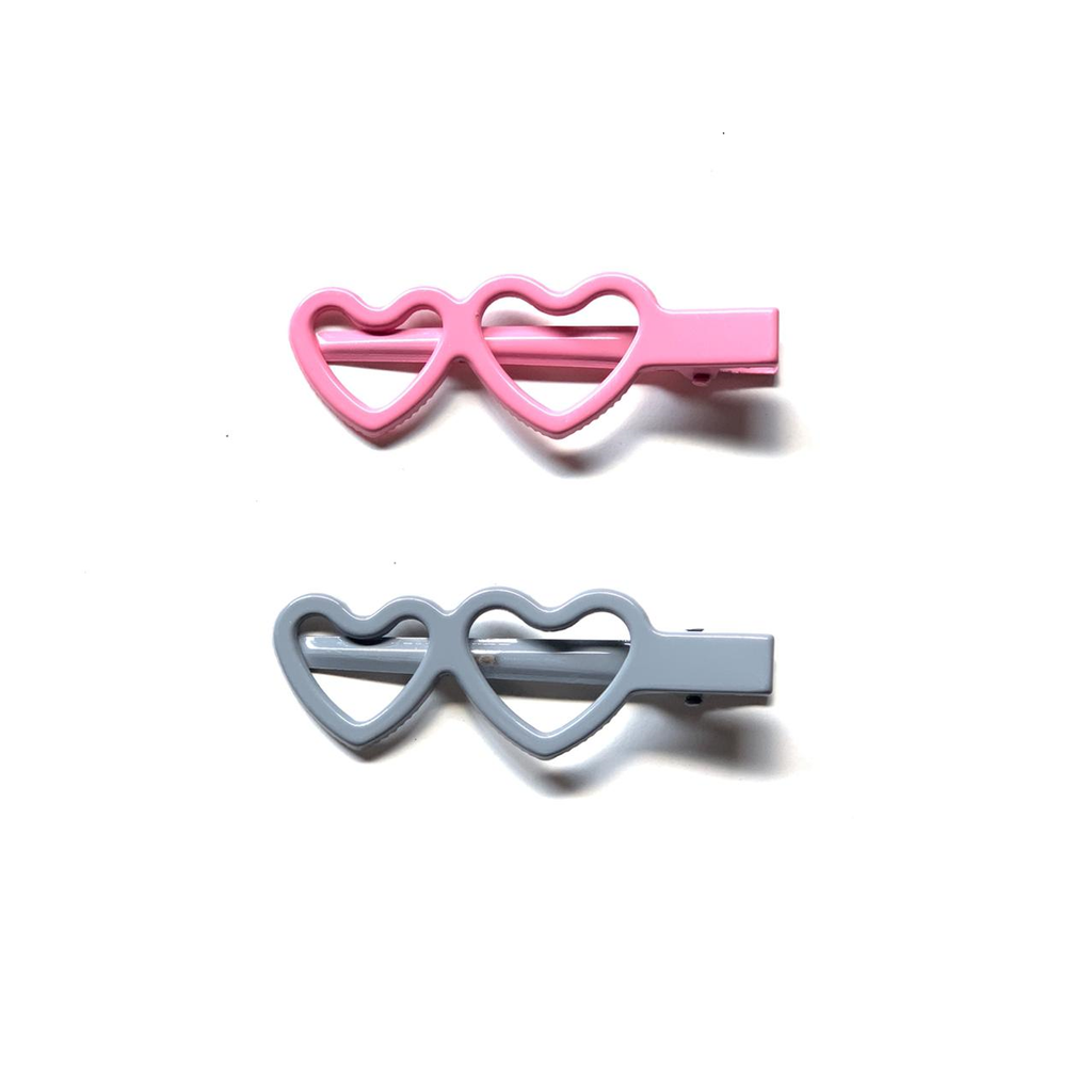 BonBon Beauty Oh-My-Heart Pack of 2 Hair Clips