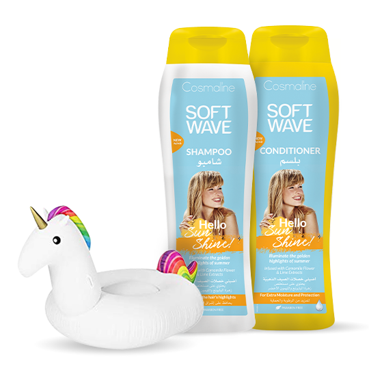Cosmaline Soft Wave Hello Sunshine Summer Bundle + Rainbow Unicorn Cup Holder