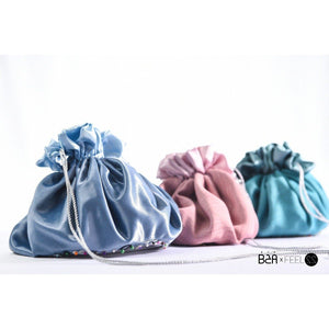 EXPOSED Gathered Up - Drawstring Makeup Bag