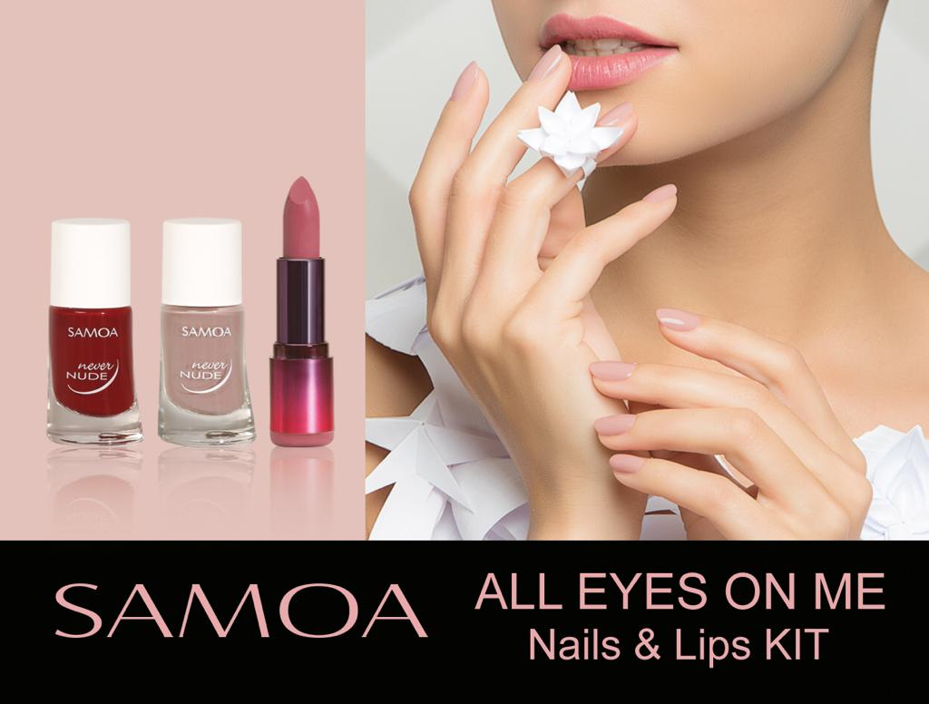 Samoa All Eyes On Me - Nails & Lips Kit