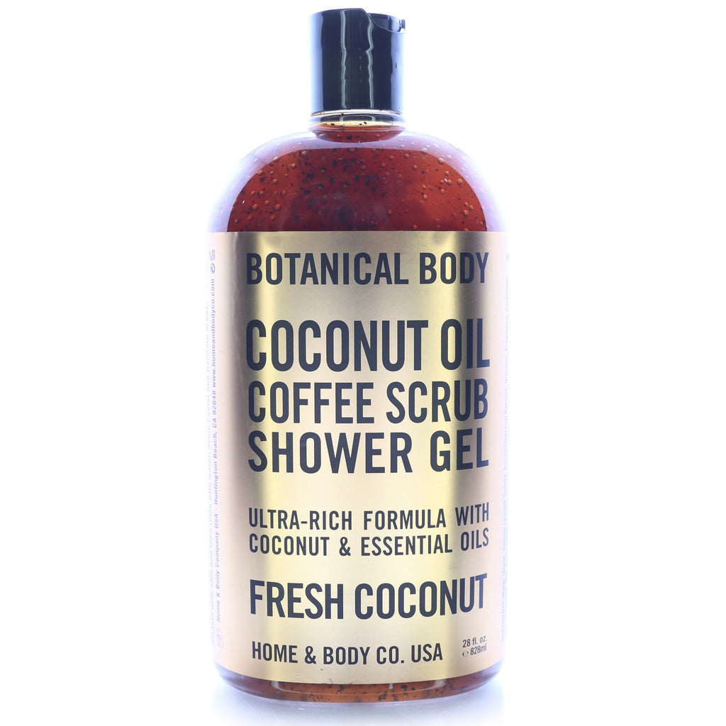 Home & Body Botanical Body Coffee Scrub Shower Gel