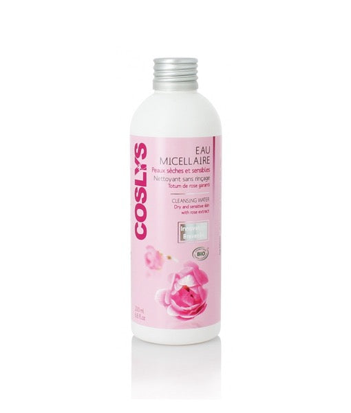 Coslys Organic Rose Micellar Water - For Dry & Sensitive Skin