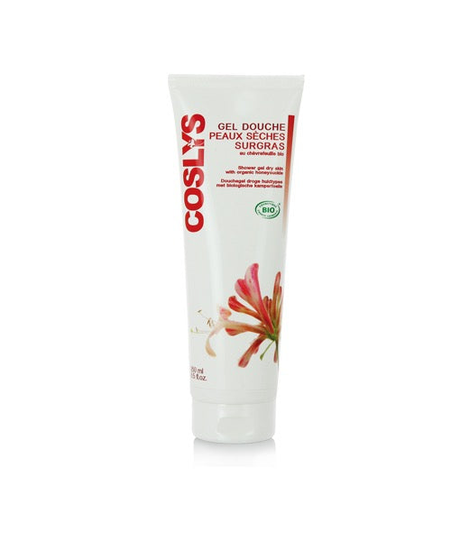 Coslys Shower Gel Dry Skin with Organic Honeysuckle