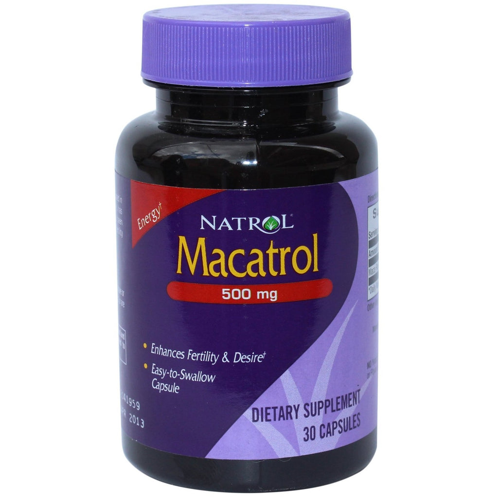 Natrol Macatrol - Enhances Fertility & Desire