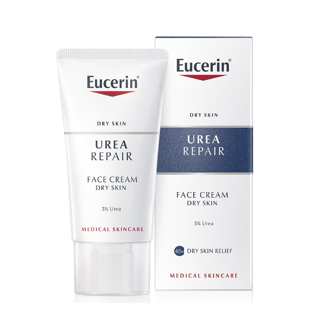 Eucerin UreaRepair Dry Skin Smoothing Face Cream with 5% Urea