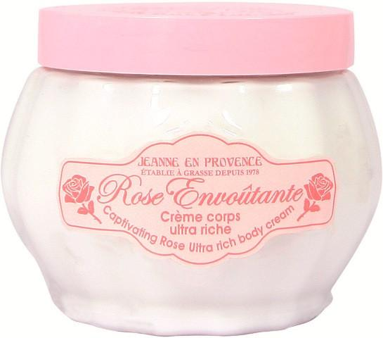 Jeanne en Provence Body Cream Rose Envout 200ml