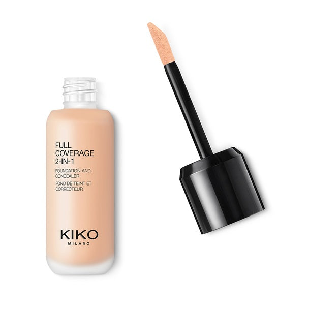 Kiko Milano Full Coverage 2in1 Foundation & Concealer