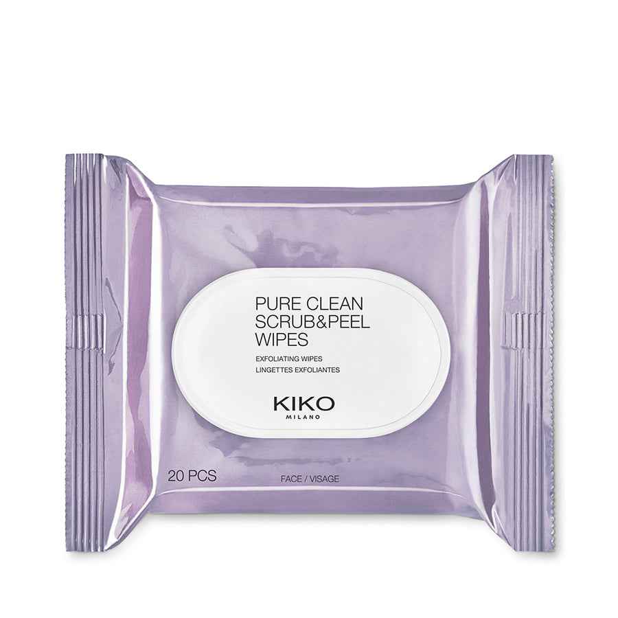 Kiko Milano Pure Clean Scrub & Peel Wipes