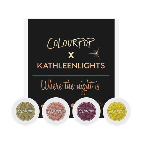 Colourpop Where The Night Is Foursome - Eyeshadow Bundle