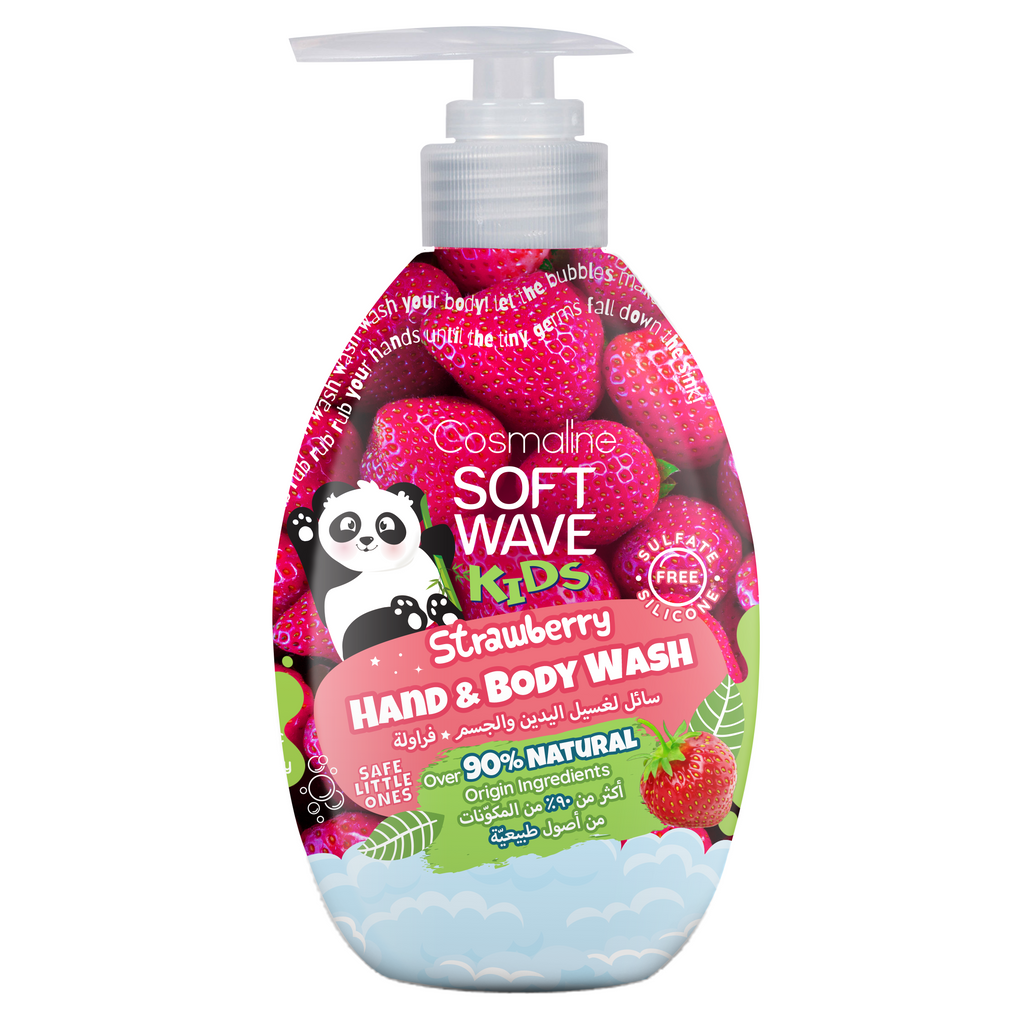 Softwave Kids Hand And Body Wash Strawberry 550ml