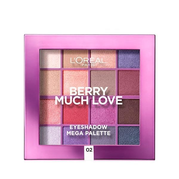 L'Oreal Paris Berry Much Love Eyeshadow Mega Palette