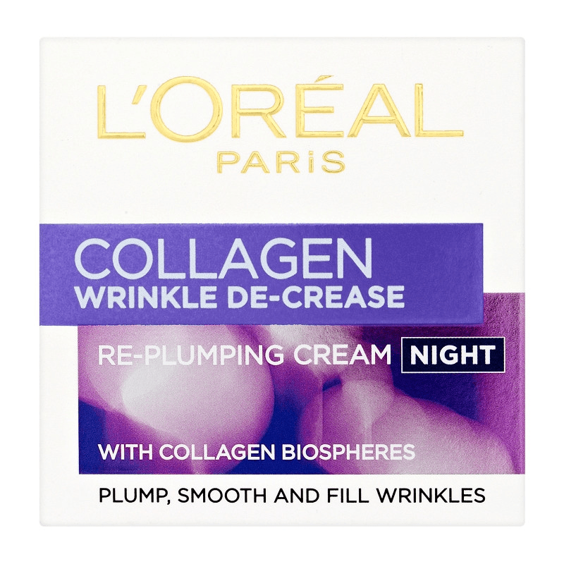 L'Oreal Paris Dermo Expertise Collagen Night Cream 50ml