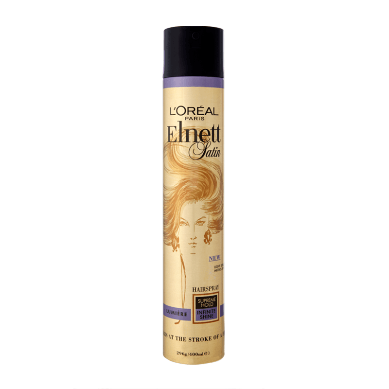 L'Oreal Paris Elnett Satin Supereme Hold Infinite Shine Hair Spray