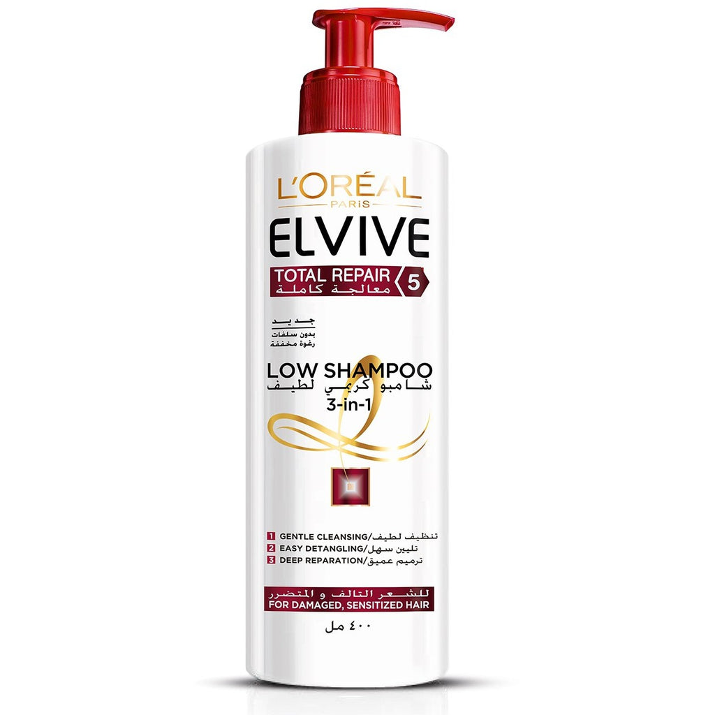 L'Oreal Paris Elvive Total Repair 5 Low Sulfate Shampoo