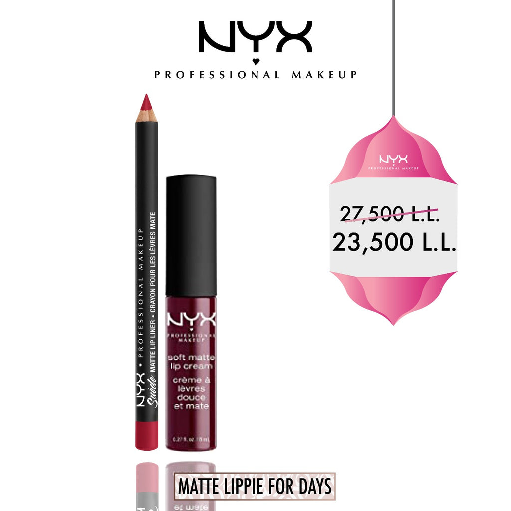 Nyx Profressional Makeup Eid Offer: Soft Matte Lip Kit 15% Off
