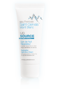 Saint-Gervais Mont Blanc Restorative Night-time Cream Tube 40ml