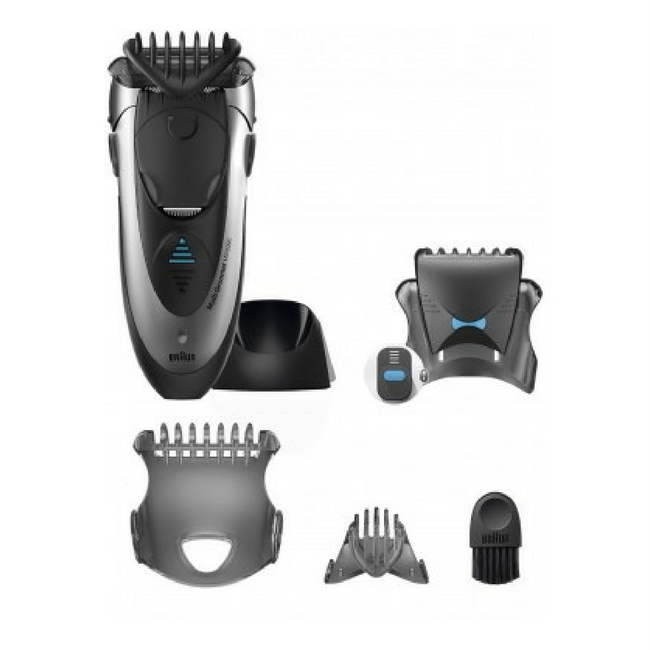 Braun Multi Groomer MG5090 - All in one Wet & Dry Shaver, Styler & Trimmer