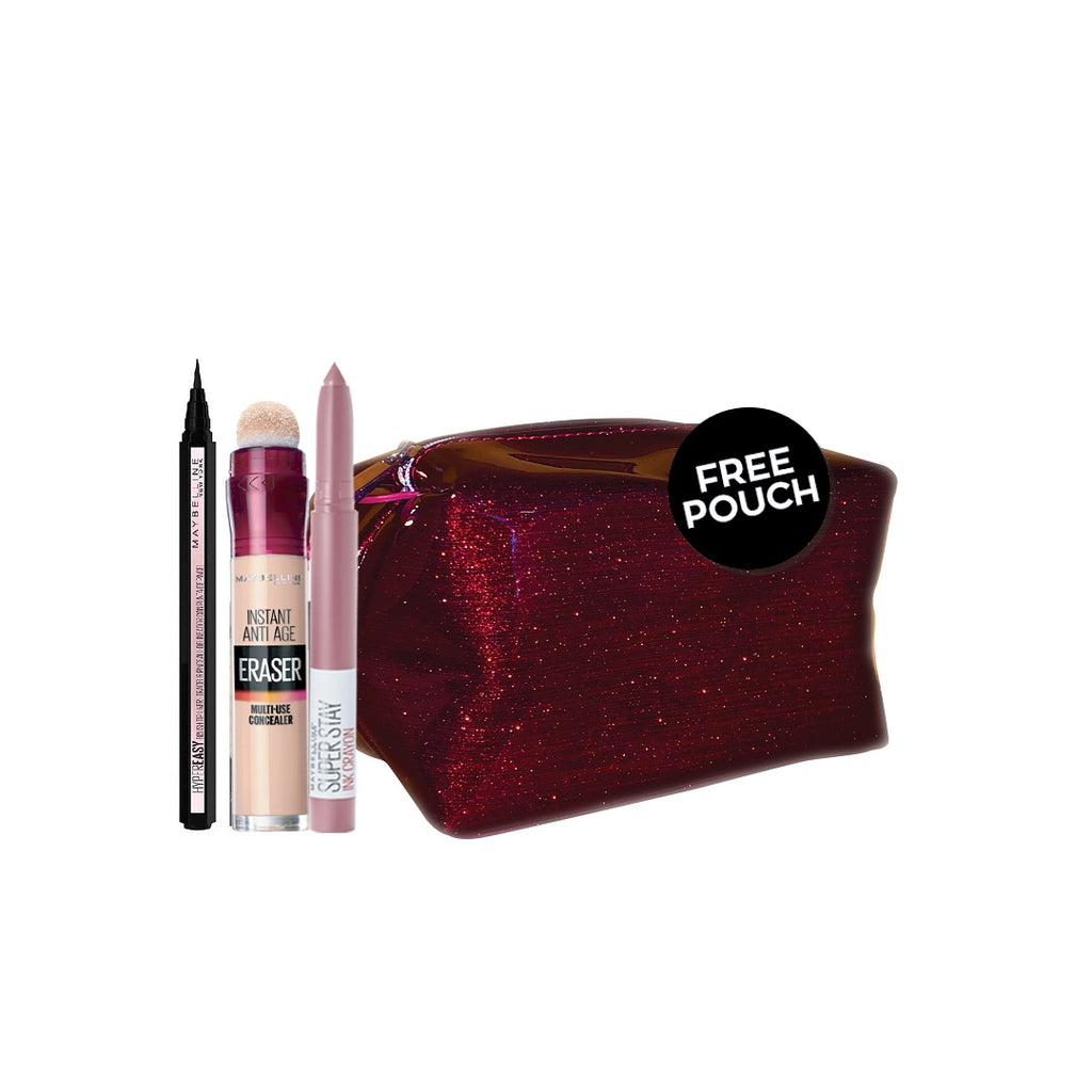 Maybelline From Me To Me Valentine Bundle + Free Pouch
