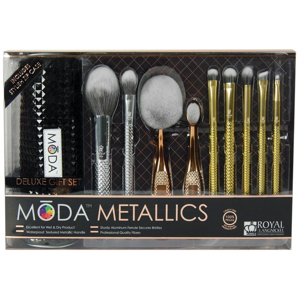 Royal & Langnickel Moda Metallics 10Pc Deluxe Gift Kit