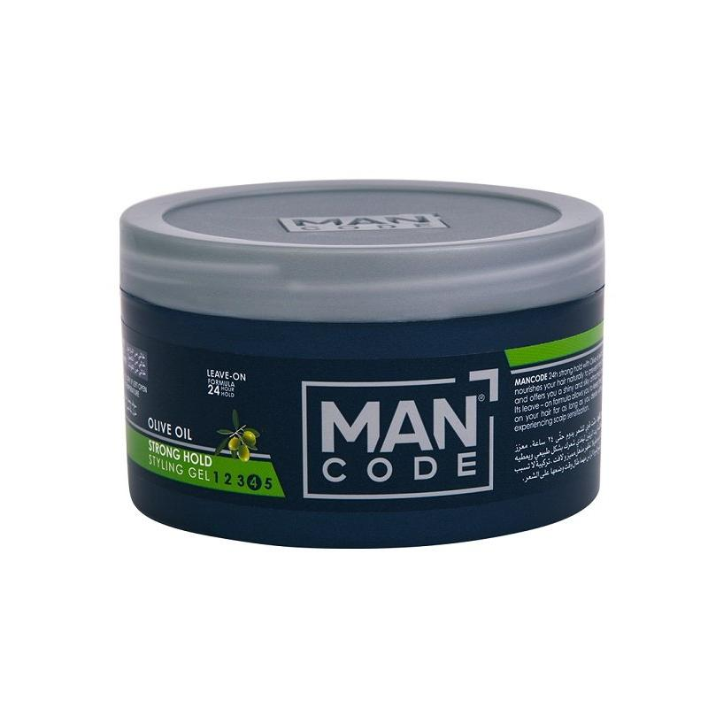 Mancode Hair Gel Strong Hold with Olive Oil