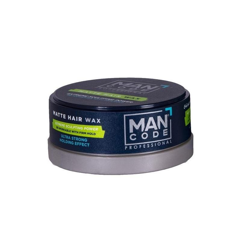 Mancode Professional Matte Hair Wax Extreme Power