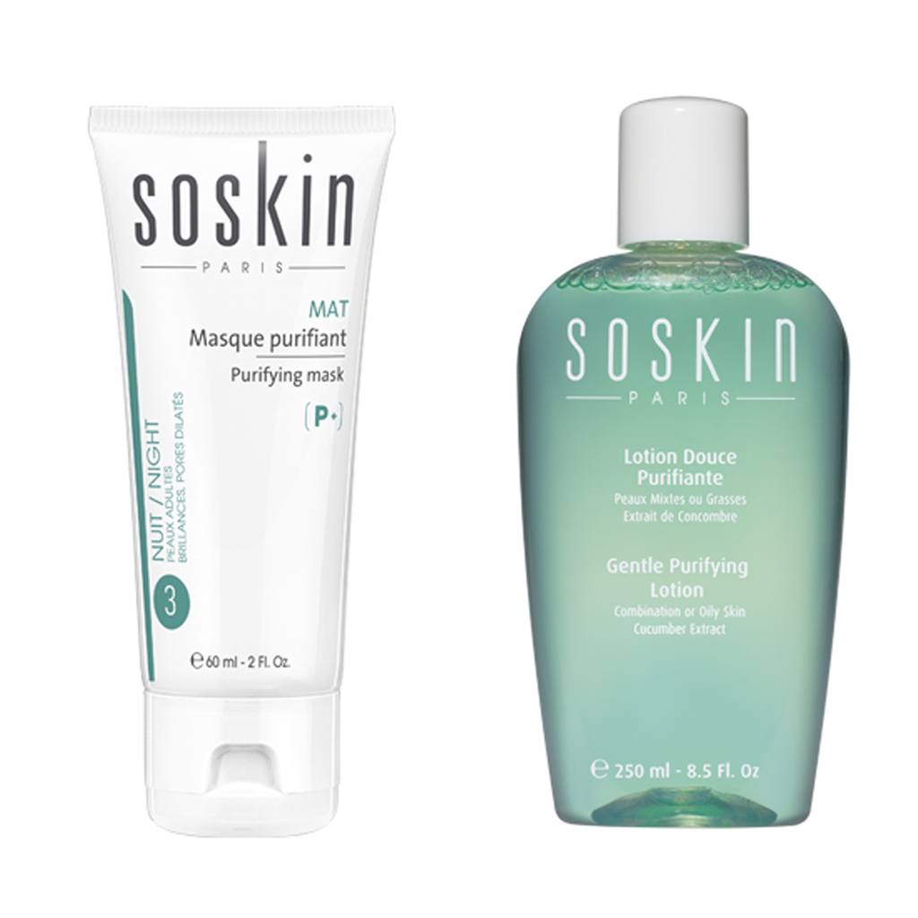 Soskin Purifying Mask+ Free Gentle Purifying Lotion