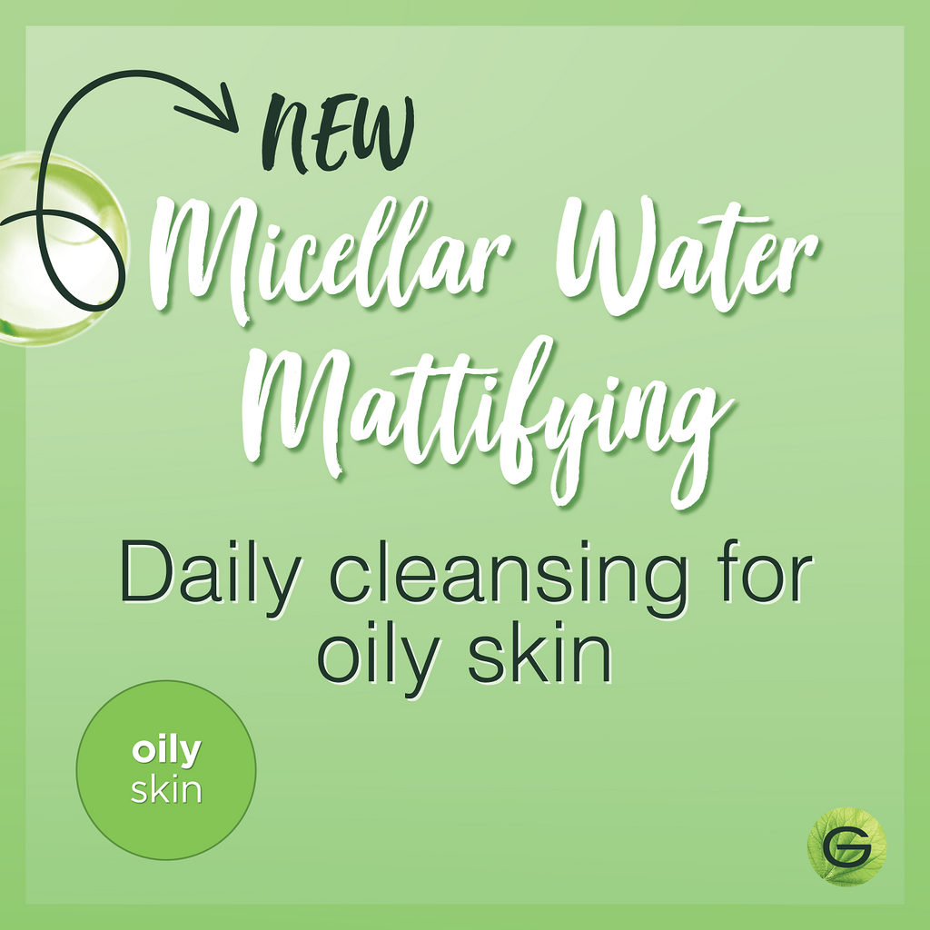 Garnier Exclusive Micellar Mattifying Cleanser Water - Oily & Combination Skin