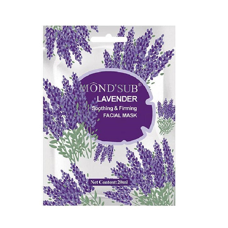 Mond'Sub Lavender Soothing & Firming Organic Facial Mask