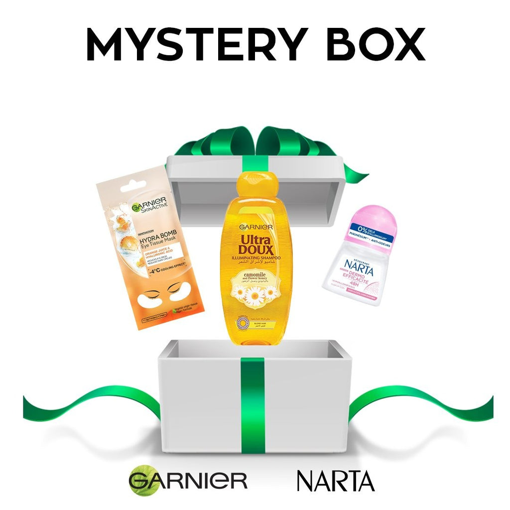 Garnier November Mania Mystery Box 6 items 32% Off!