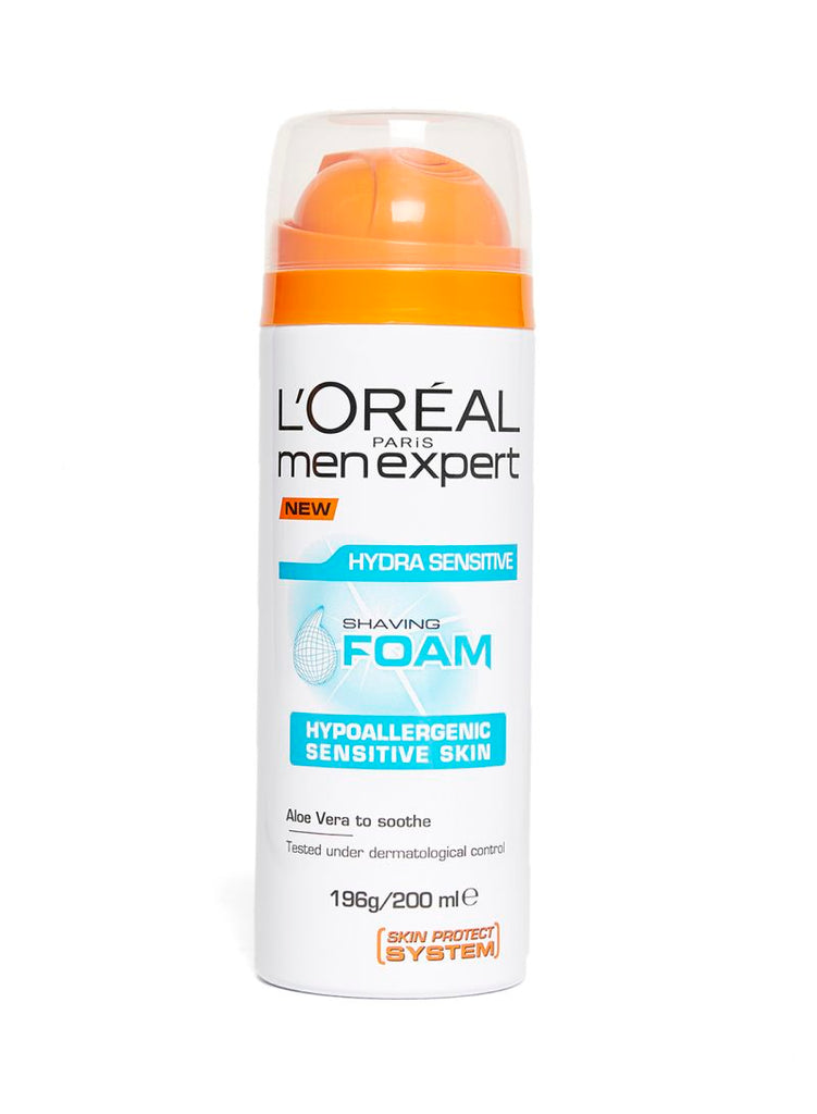 L'Oreal Men Expert Hydra sensitive Shaving Foam 200ml