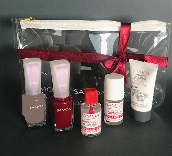 Samoa Nail Care & Amore Mio Gift Set - Winter 2018 Collection