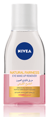 Nivea Natural Fairness Eye Makeup Remover 125ml