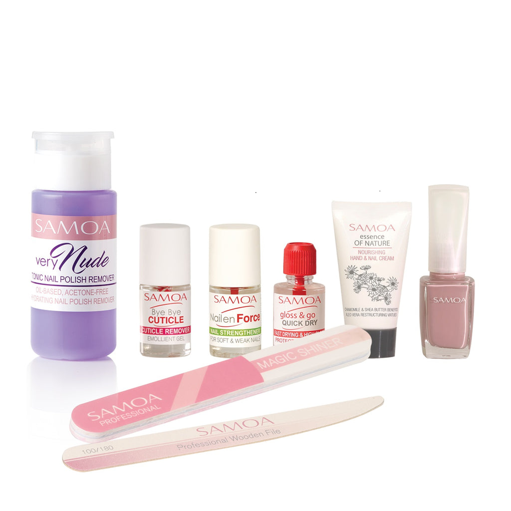 Samoa Full Manicure at Home - Full Nail Care Kit