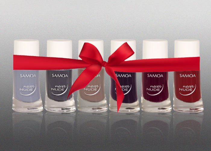 Samoa Never Nude Nail Polish Set - Winter 2018 Collection