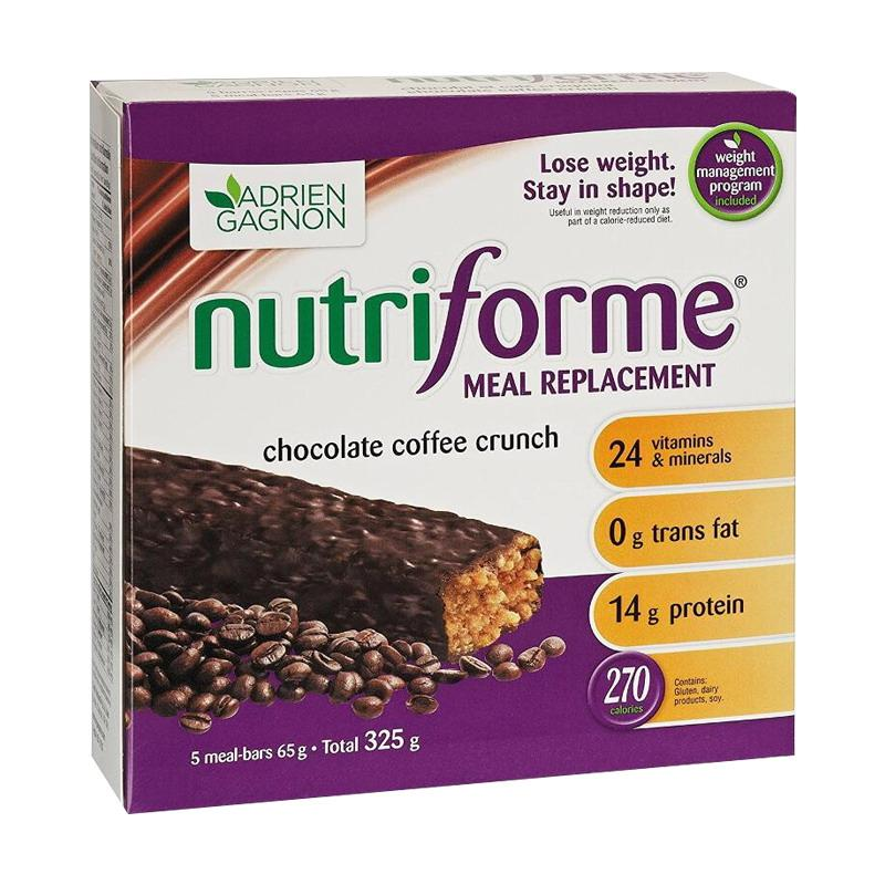 Adrien Gagnon Nutriforme Meal Replacement Protein Bar