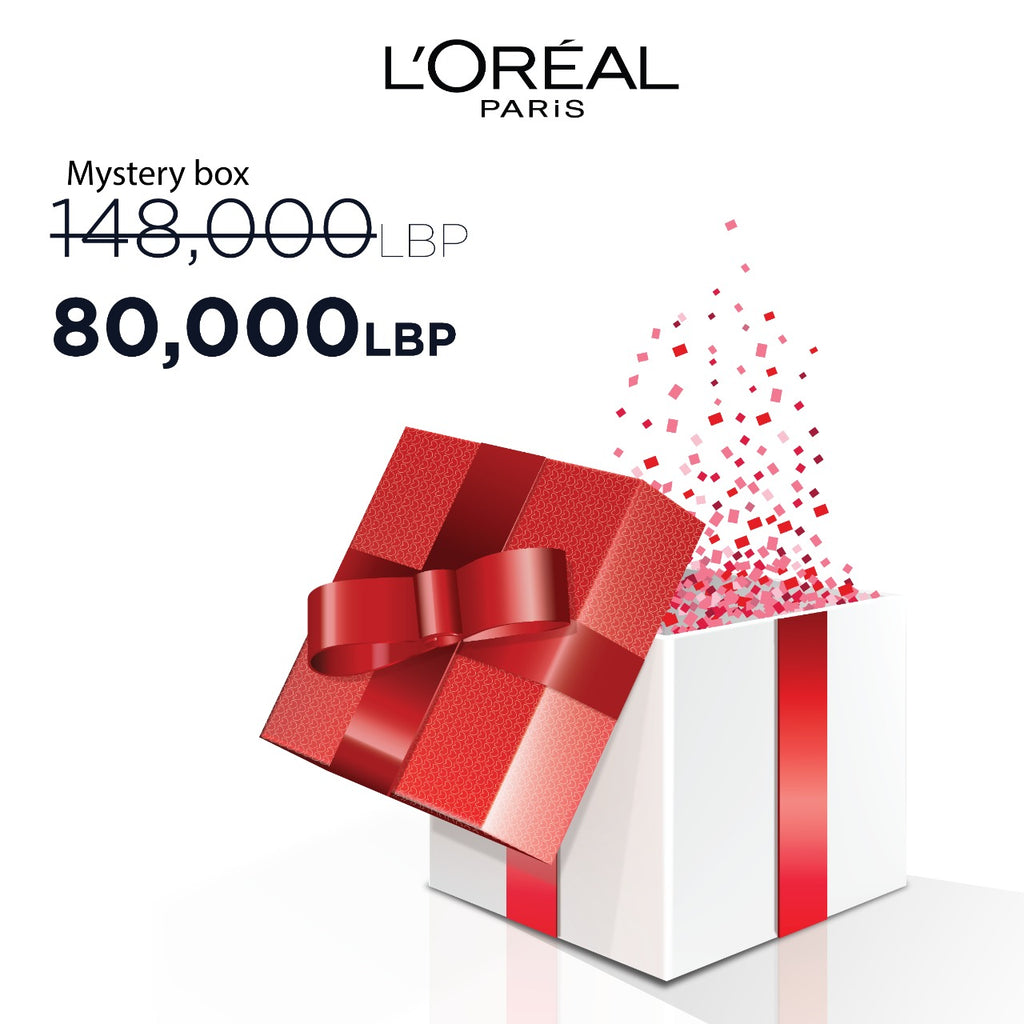 L'Oreal Paris Eid Mystery Box: Self Care Gift  - 7 Products! 46% Off