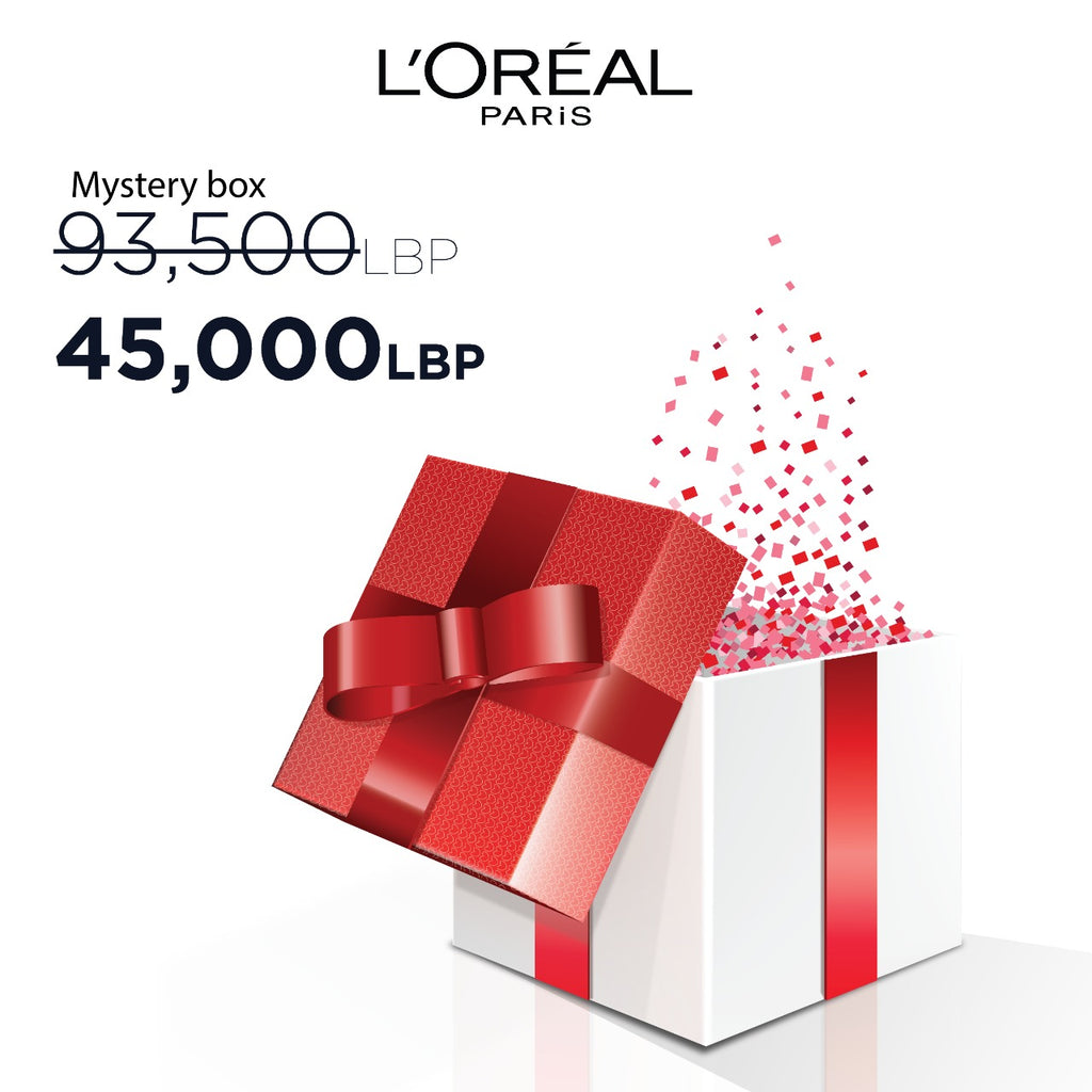 L'Oreal Paris Eid Mystery Box: Best Sellers  - 4 Products! 52% Off