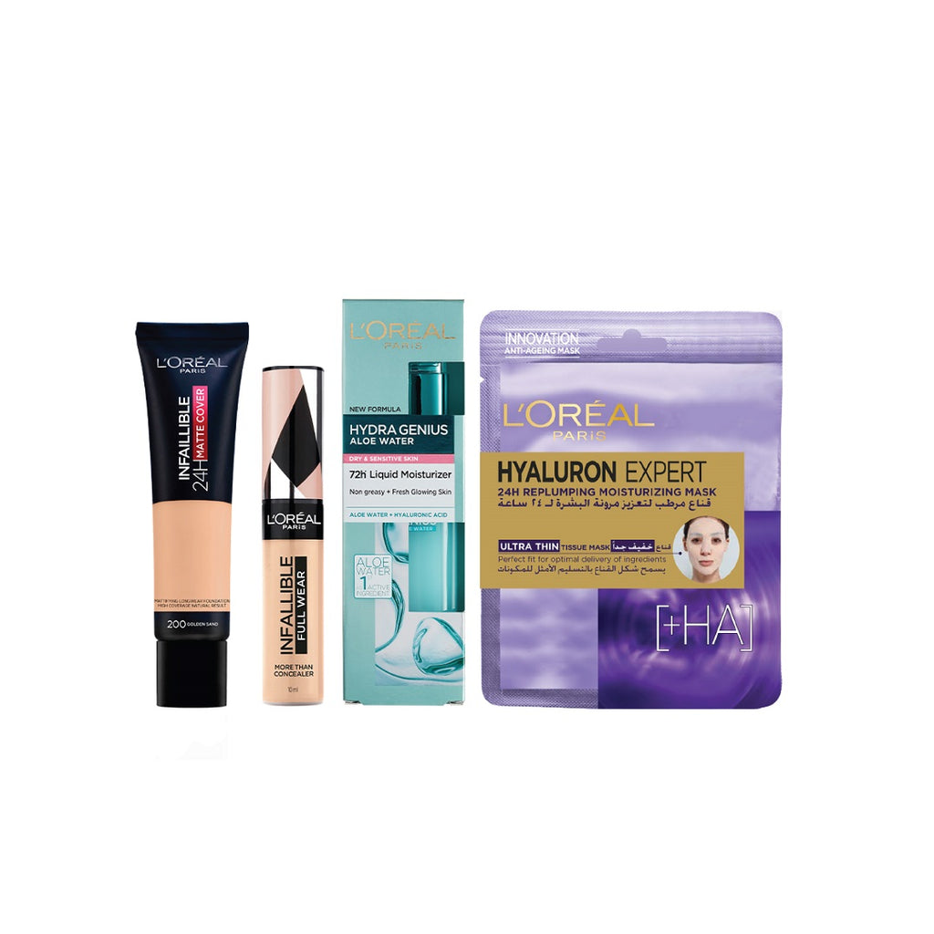 L'oreal Paris To Your Morning Fresh Look Bundle 15% Off!