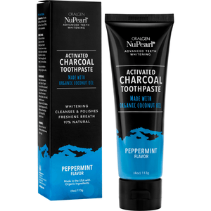 Oralgen NuPearl Activated Charcoal Toothpaste