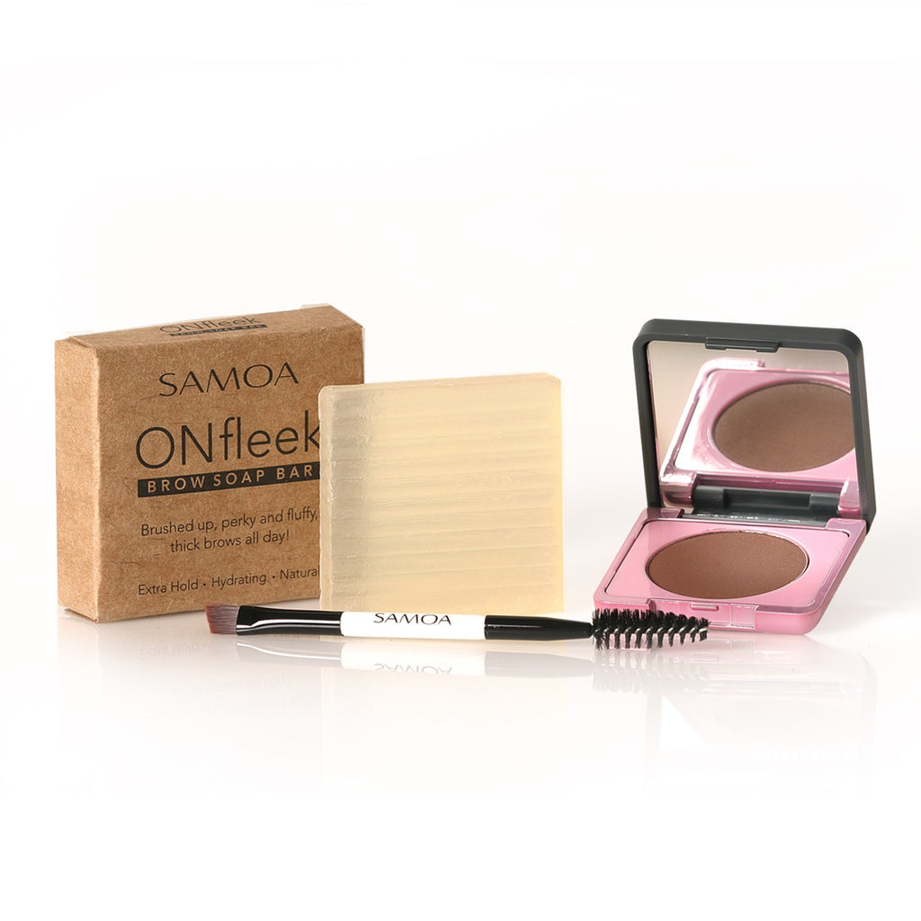 Samoa ONfleek Soap Brow Offer : Browza Brow Powder + Soap Bar + Brush 10% OFF
