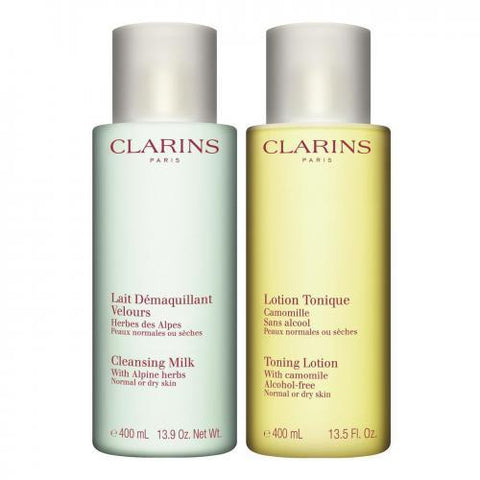Clarins Cleansing Duo - The first step to beautiful skin