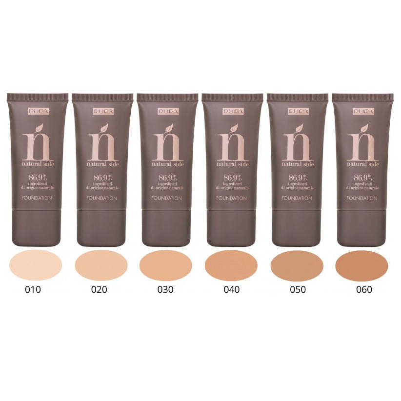 Pupa Natural Side Fluid Foundation SPF6
